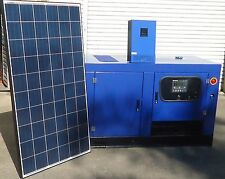 SOLAR SYSTEM KIT OFF GRID 48V 21Kwh STANDBY POWER 11KW P/DAY  10kw diesel genset