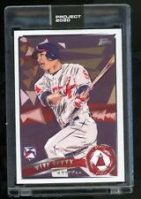 2020 Topps Project 2020 Mike Trout by Naturel #167 In Hand 6