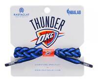 Rastaclat Basketball Oklahoma City Thunder Home Braided Bracelet - Navy & Blue