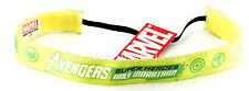 NEW Run Disney 2015 Half Marathon Marvel Avengers Sweaty Band - Green / Yellow