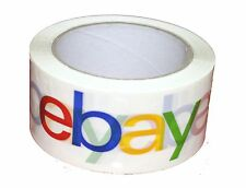 "5 Rolls eBay Branded Logo BOPP Shipping Tape 75 yards x 2""  Priority Mail"