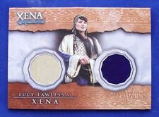 Xena Beauty And Brawn Dual Costume Card DC8 Lucy Lawless