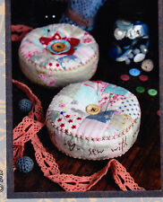 PATTERN - Heart & Soul Pincushion KIT - quick & easy applique PATTERN