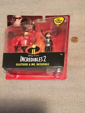 disney pixar incredible elastigirl and mr incredible figures brand new with box