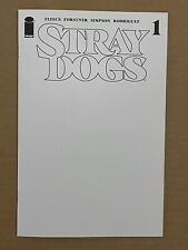 Stray Dogs # 1 Cover C Blank / Sketch Variant 1st Print 2021 NM + 9.6 Image