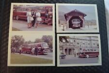 Vintage 1962 Color Photos Family w/ Mercedes Luxury Tour Bus Germany 874004