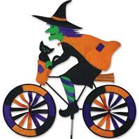 Premier Kites PMR25998 Witch on Bicycle Garden Spinner