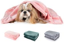 Dog Blanket Puppy Cat Kitten Pet Blanket 50 x 60 inch Pink Fleece Throw Blanket