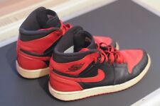 Men's Nike Air Jordan 1 Retro High Bred 2009 DMP - Size 7 - 332550-061 *CLASSIC*