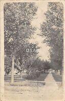C71/ Kansas City Missouri Mo Real Photo RPPC Postcard c1915 Residential Street