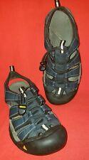 Keen Newport Men's Outdoor Sports Sandals 9M Blues Suede Padded Strap HEAVY DTY