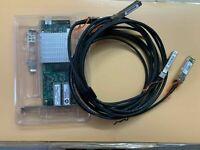 HP NC523SFP 593742-001 593715-001 10Gb network card +2PCS 3M SFP+ Cable