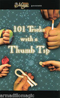 101 Tricks With A Thumb Tip Booklet - Magic Trick Book - US Seller