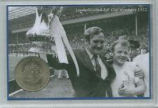 Leeds United FC Vintage F.A Cup Winners rétro don revie pièce ensemble cadeau 1972