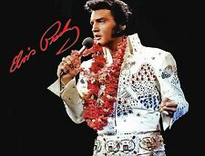 ELVIS PRESLEY HAWAII SIGNED IN CONCERT ROCK MUSIC 8X10 PHOTO RP - MUST HAVE!