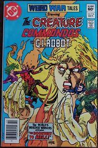 Weird War Tales #116 VF 8.0 (DC 1982) - Creature Commandos & G.I. Robot!