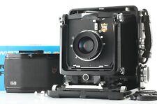 【EXC+5】 Wista 45D 45 D Black Large Format + Nikkor W 135mm f/5.6 Lens from JAPAN