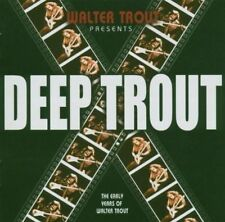 WALTER TROUT - DEEP TROUT - 25TH ANNIVERSARY NEW VINYL RECORD