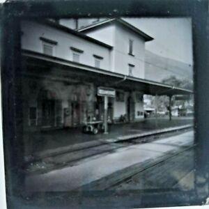 Vintage Slide, Cadenazzo Station, Switerland, Circa 1930s?