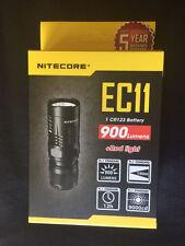 NEW NITECORE EC11 900 Lumen + Red light Flashlight[EA41]