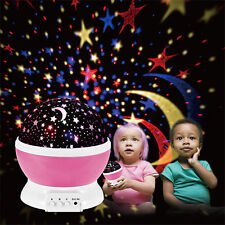 Led Rotating Star Master projector Starry Night Lamp Romantic Projection LED