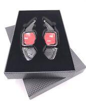 ECHT CARBON DSG Schaltwippen Shift Paddle für VW Golf Golf 5 6 GTI R GTD EOS CC