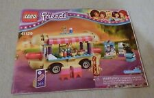 Lego FRIENDS Manual Only NEW (from set) #41129 Amusement Park Hot Dog Van