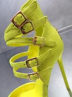 NEU HOHE Riemchen Stiefel Damen O87 Sandalen Pumps Schuhe Luxus High Heels  36 08de9ecd36
