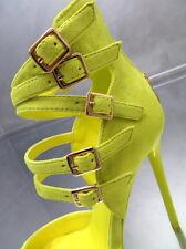 NEU HOHE Riemchen Stiefel Damen O87 Sandalen Pumps Schuhe Luxus High Heels 36