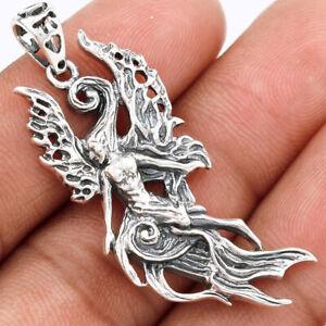 Fairy 925 Sterling Silver Pendant Jewelry SSS SPJ2165