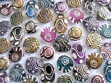 Bulk 100pcs Mixed Quality Metal Enamel Rings FREE POST