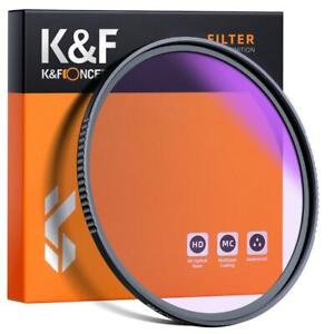 K&F Concept Clear-Night Filter 52/58/67/72/77/82mm Pollution Reduction for Night
