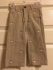 JANIE and JACK Boys Autumn Rugby Pants Adjustable Waist Size 2T