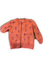 bobo choses Baby Artist Easl Sweater Hoodie Orange Blue