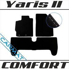 Fußmatten Auto Autoteppich passend für Toyota Yaris Hybrid 2011-2018 CACZA0103