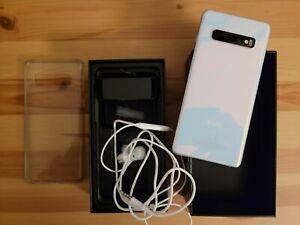 Samsung Galaxy S10 SM-G973 - 128GB - Prism White  top gepflegt
