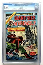 WEREWOLF BY NIGHT - GIANT SIZE No. 5 - CGC 9.6 - White Pages.