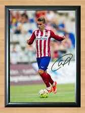 Antoine Griezmann Atletico Madrid Signed Autographed A4 Photo Print Memorabilia