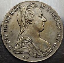 1 Thaler 1780 IC-FA Maria Theresa Austria - Habsburg Very Nice Grade !! KM# T1
