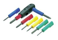 TRUSCO / HOME SCREWDRIVER SET WITH GRIP / TD-8S / MADE IN JAPAN