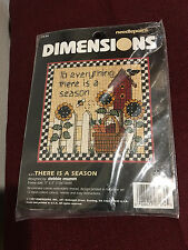 Dimensions .There is a Season Needlepoint Kit