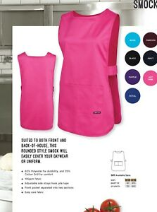 JB's Rounded Style SMOCK Apron with Front Pocket Hospitality Home Garden using