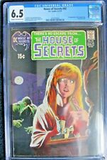 HOUSE OF SECRETS #92 (1ST APP. SWAMP THING) 1971 HUGE MEGA DC COMIC CGC 6.5 NICE