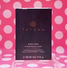 TATCHA AGELESS REVITALIZING EYE CREAM 0.5OZ FULL SIZE! NEW-BOX! AUTHENTIC!