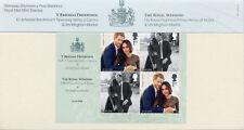 GB 2018 MNH Prince Harry & Meghan Royal Wedding 4v M/S Pres Pack Royalty Stamps