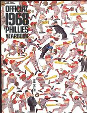 1968 Philadelphia Phillies Baseball Yearbook EX