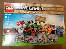 Lego Minecraft 21116 Crafting Box New Factory Sealed Set Great christmas gift!