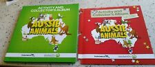 Woolworths Aussie Animals + Limited Edition Baby Wildlife Cards Collector Albums