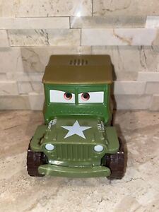 Disney Pixar Cars Shake N Go Talking Sarge LIMITED MOTION