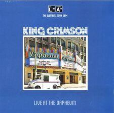KING CRIMSON LIVE AT THE ORPHEUS VINILE LP 200 GRAMMI NUOVO E SIGILLATO !!